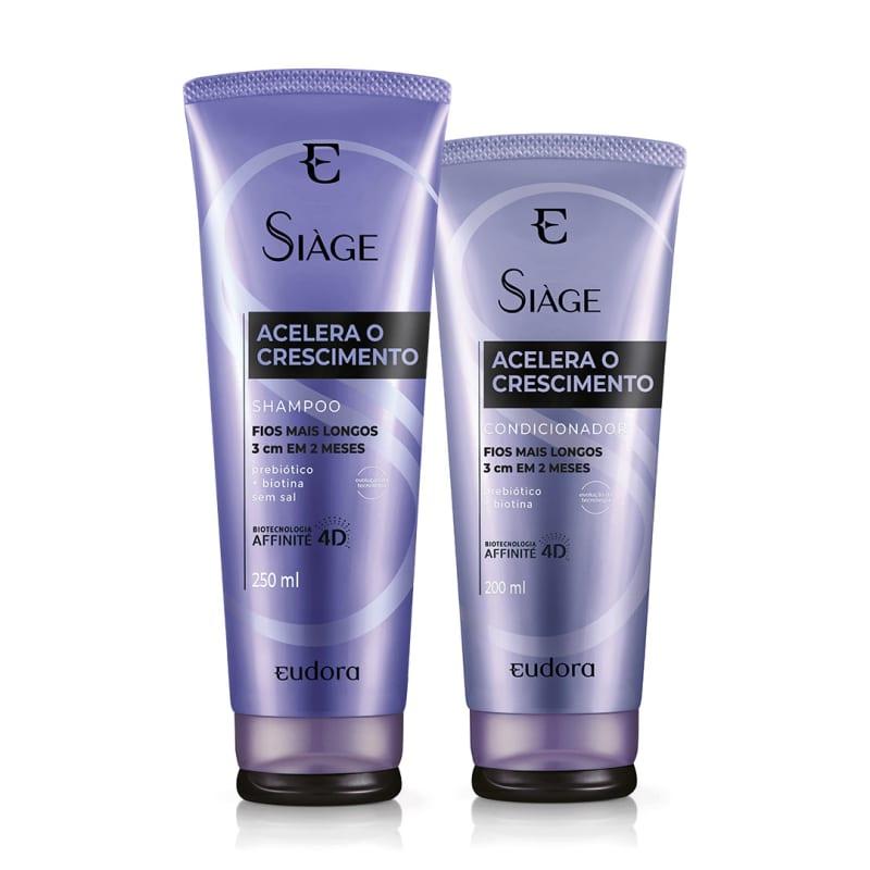 Kit Siàge Acelera o Crescimento Shampoo + Condicionador (Nova Versão)