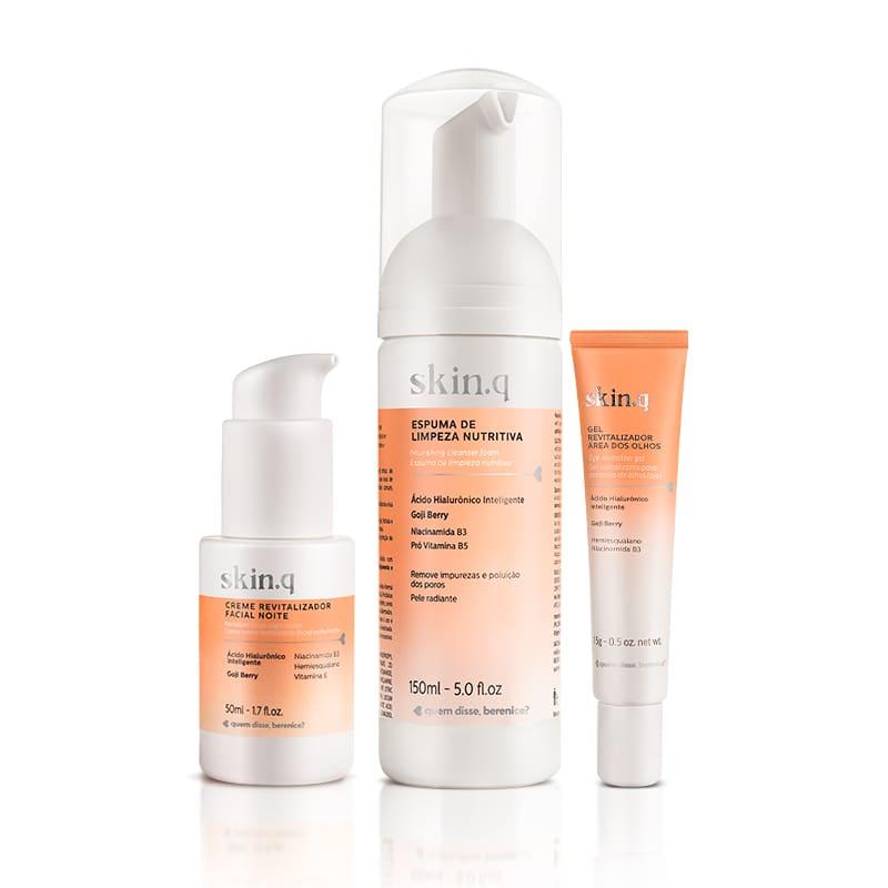 Kit Skin.q Noite - Tratamento + Pele descansada