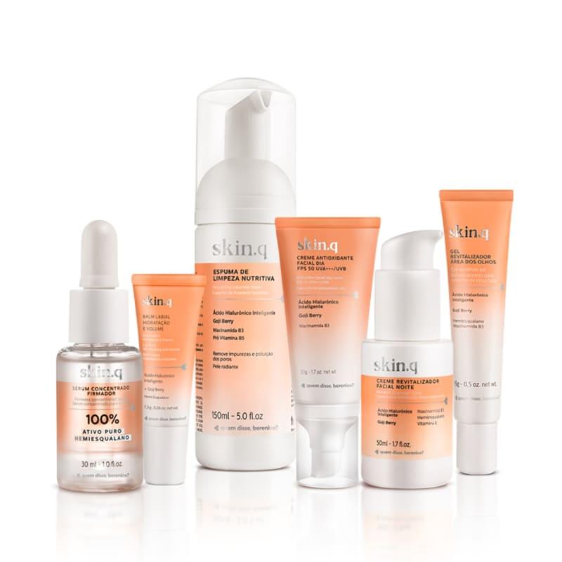 Kit Skin.q Cuidados Completo - Sérum Hemiesqualano
