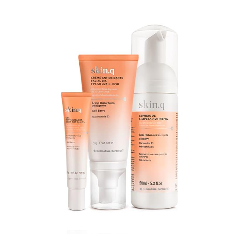 Kit Dia do Skincare Descomplicado (3 itens)