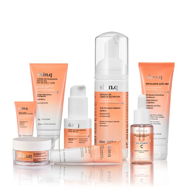 Kit Skin.q Rotina de Cuidados Completa com Vitamina C