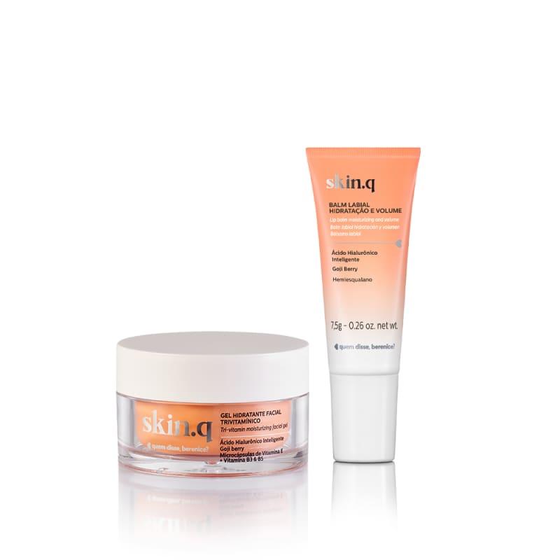 Kit Skin.q Hidratação Facial Express