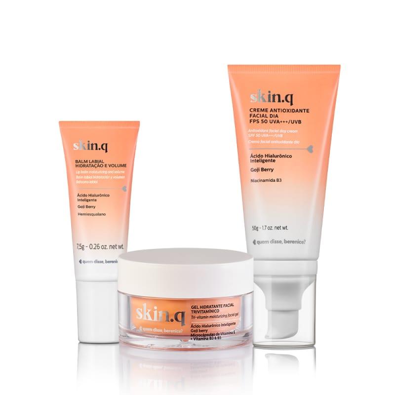 Kit Skin.Q Hidratação e Multiproteção Facial