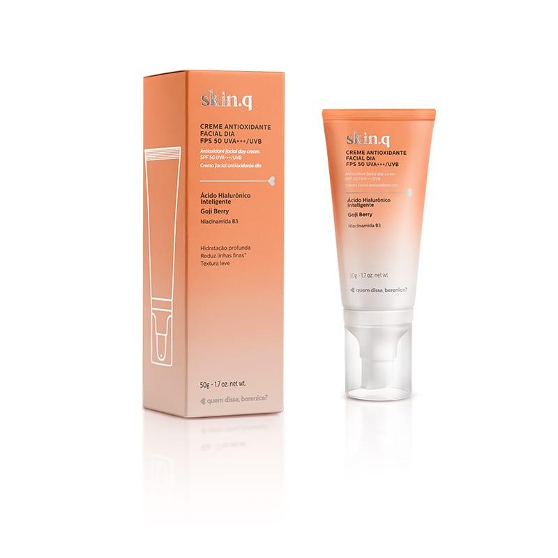 Skin.q Creme Antioxidante Facial Dia FPS 50