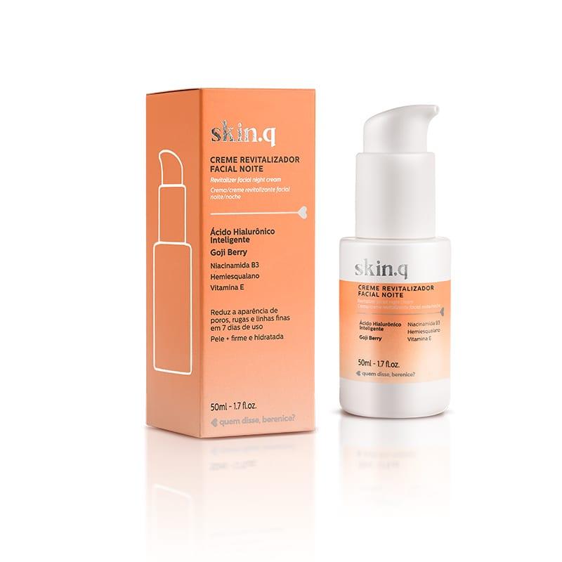 Skin.q Creme Revitalizador Facial Noite