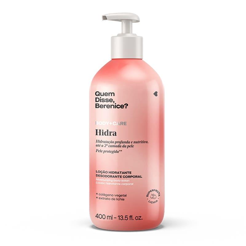 Hidra Loção Hidratante Desodorante Corporal 400ml