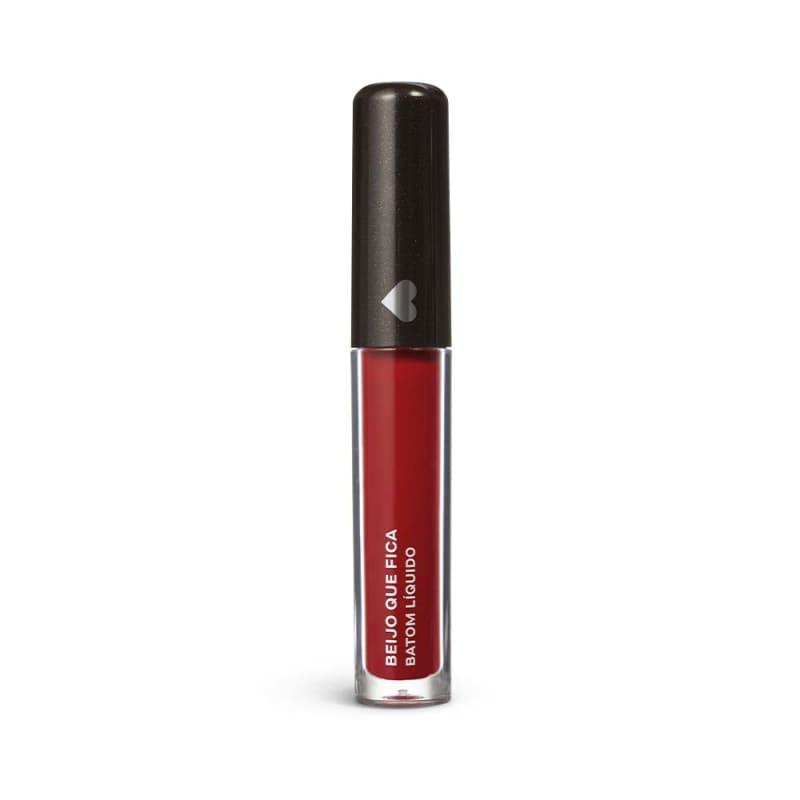 Batom Líquido SuperMate Vermelho Beijo que Fica 4ml