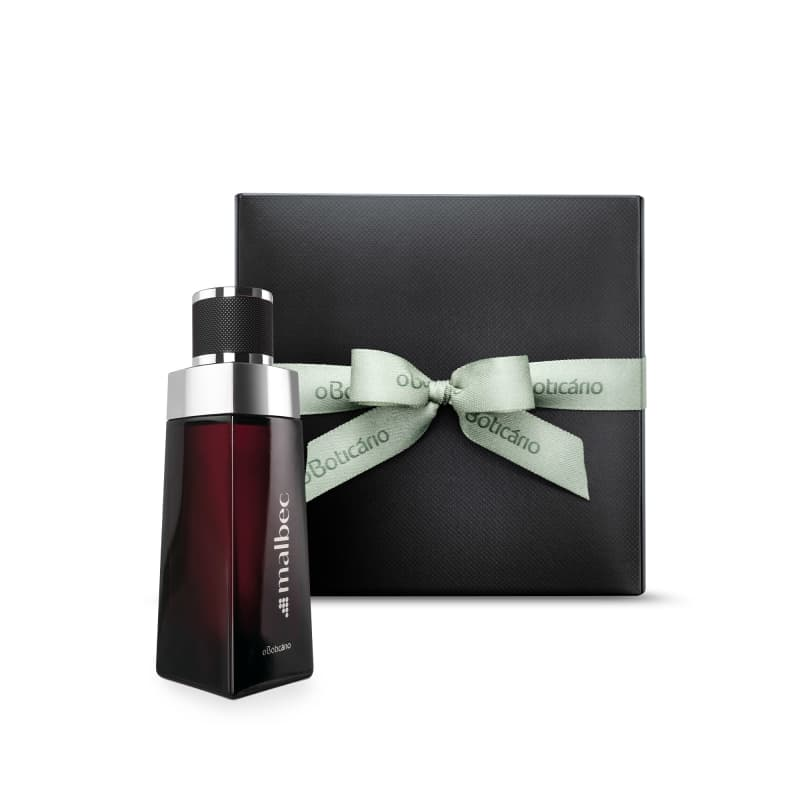 Combo Presente Malbec: Desodorante Colônia 100ml + Caixa de Presente