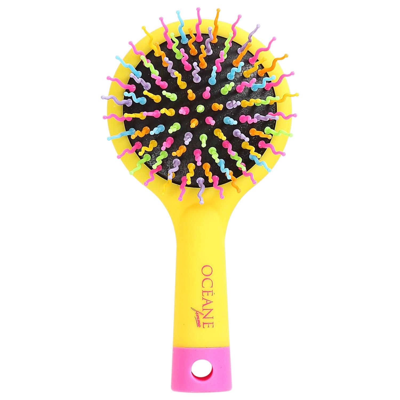 Rainbow Brush Amarela - Mini Escova De Cabelo