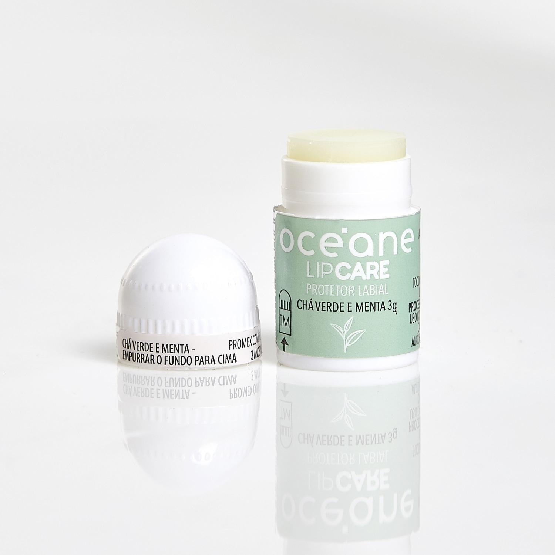 Lip Care - Protetor Labial Chá Verde E Menta