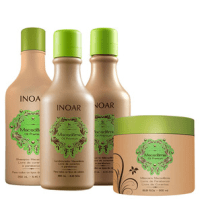 Inoar Macadâmia Oil Premium Kit de Tratamento Intensivo (4 Produtos)