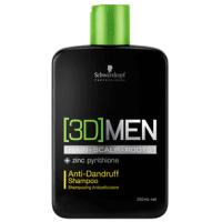 Schwarzkopf Professional 3D Men Anti-Dandruff - Shampoo 250ml
