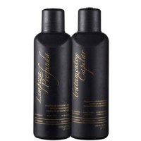G.Hair Tratamento Capilar Marroquino Hair Kit Escova Marroquina (2 Produtos)