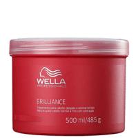 Wella Professionals Brilliance Mask Cabelo Normal a Fino - Máscara de Tratamento 500ml