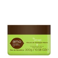 Yenzah Amo Australian Macadamia Oil Máscara de Hidratação Máxima - Máscara 300ml