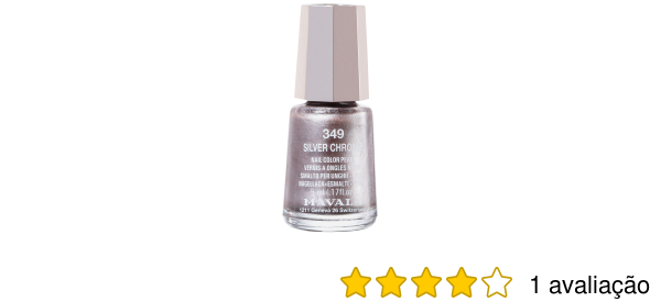 Mavala Mini Colours Silver Chrome Esmalte Metalico 5ml