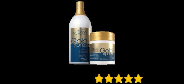 9e77b2e8e7892 Kit Salvatore Blue Gold Gold Xpress Salão   Beleza na Web