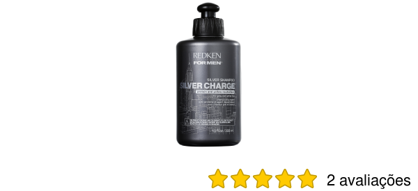 Shampoo Redken For Men Silver Charge  5f89fe66a38d