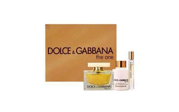 Dolce   Gabbana Conjunto Feminino The One - Eau de Parfum 75ml + Loção 100ml  + Eau de Parfum 6ml - Beleza na Web a935ffbf29