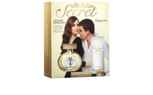 241dcb45d92 Antonio Banderas Conjunto Feminino Her Golden Secret - Eau de Toilette 80ml  + Loção 100ml - Beleza na Web