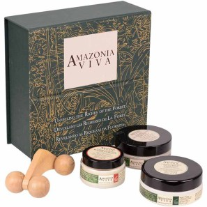 Amazonia Viva Kit Spa 2 (3 Produtos + Massageador)