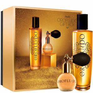 Orofluido Gift Box Edição Limitada - Óleo de Tratamento 100ml e Gold Dust