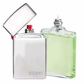 Zippo Conjunto Masculino The Original Prata - Eau de Toilette 50ml + Refil 50ml