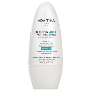 Ada Tina Doppia 48h - Desodorante Unissex Roll-on 50ml