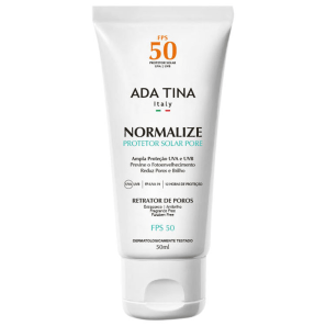 Ada Tina Normalize Pore FPS 50 - Protetor Solar Facial 50ml