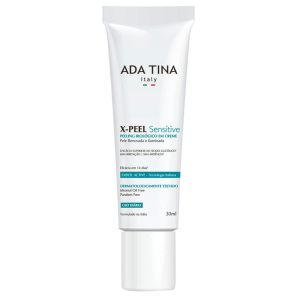 Ada Tina X-Peel Sensitive - Creme Anti-idade Clareador 30ml
