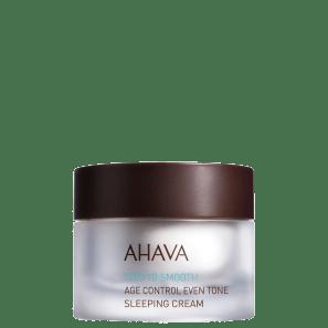 Ahava Time To Smooth Sleeping Cream Age Control Even Tone - Creme Anti-Idade Noturno 50ml
