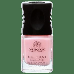 Alessandro International Nail Polish Baby Pink - Esmalte Cintilante 10ml