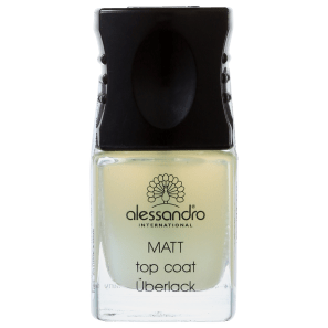 Alessandro International Top Coat Matt - Base de Cobertura Matte 10ml