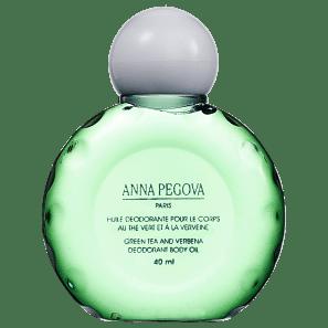 Anna Pegova Huile Déodorante Pour Le Corps Au Thé Vert Et À La Verveine - Óleo Corporal 40ml