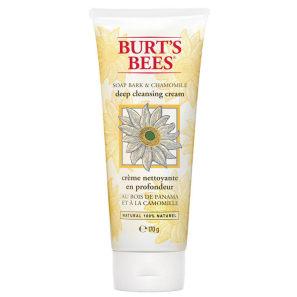 Burt's Bees Soap Bark & Chamomile Deep Cleansing Cream - Sabonete Facial 200g
