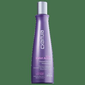 C.Kamura Silver Violet Action - Shampoo Desamarelador 315ml