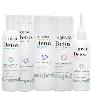 Kit Cadiveu Professional Detox Therapeutic Care (5 Produtos)