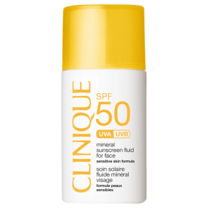 Clinique Mineral Sunscreen FPS 50 - Protetor Solar Facial 30ml