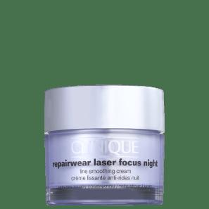 Clinique Repairwear Laser Focus Night Line Smoothing 1 e 2 - Creme Anti-Idade Noturno 50ml