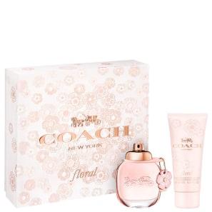 Conjunto Coach Floral - Eau de Parfum 50ml + Loção Corporal 100ml