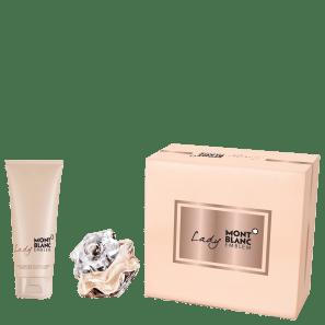 Conjunto Lady Emblem Montblanc Feminino - Eau de Parfum 50ml + Loção Corporal 100ml