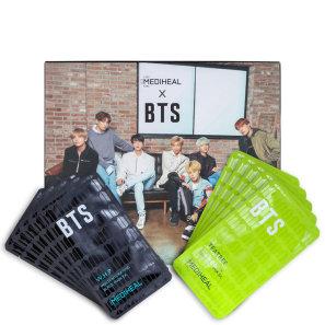 Kit Mediheal X BTS Brightening Care Special Set (10 Produtos + Cards)