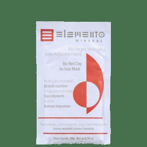 Elemento Mineral Bio Argila Vermelha - Máscara Facial 30g
