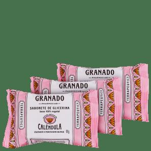 Granado Terrapeutics Calêndula - Sabonete em Barra 3x90g