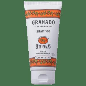 Granado Terrapeutics Sete Ervas - Shampoo sem Sal 180ml