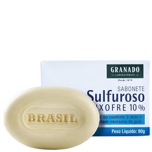Granado Tratamento Sulfuroso Enxofre 10% - Sabonete em Barra Facial 90g
