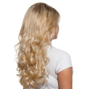 Hairdo Louro Sueco - Aplique Ondulado 58cm