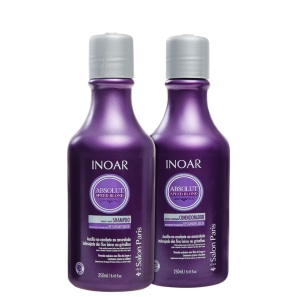 Kit Inoar Absolut Speed Blond Duo Violet (2 Produtos)