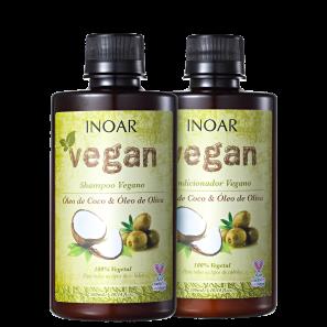 Kit Inoar Vegan Cuidado Diário (2 Produtos)