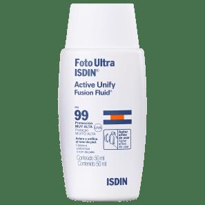 ISDIN Foto Ultra Active Unify FPS 99 - Protetor Solar Facial 50ml
